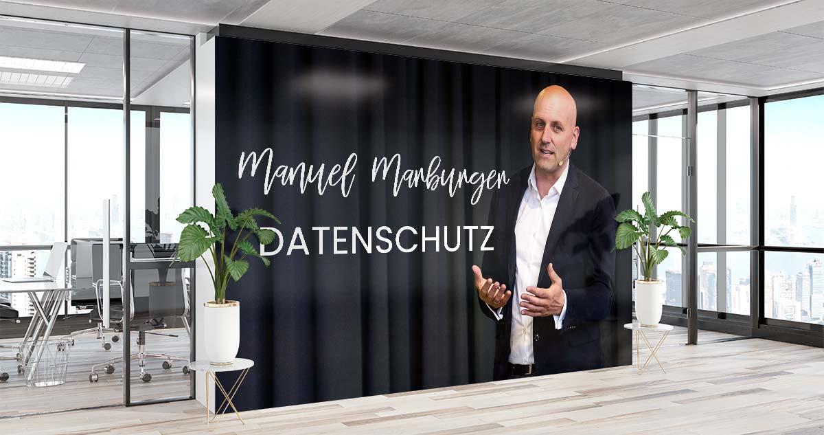 Keynote Speaker Manuel Marburger Datenschutz