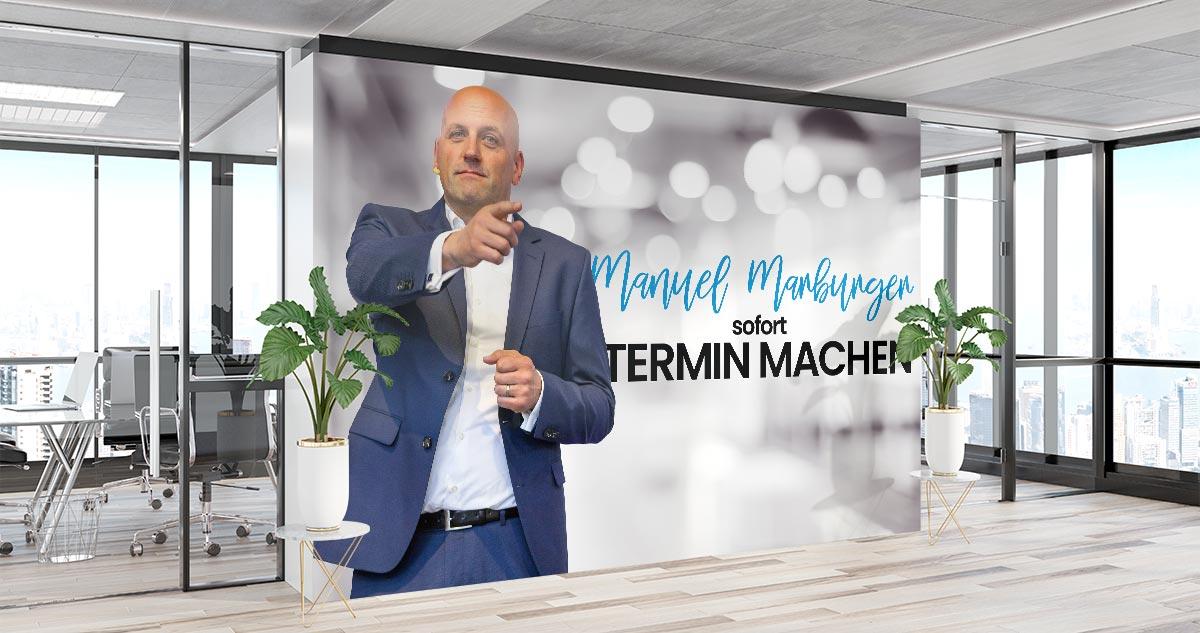 Terminvereinbarung mit Manuel Marburger