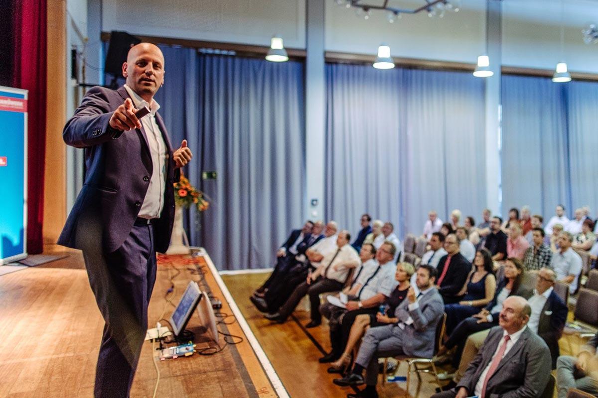 Keynote Speaker Manuel Marburger in Augsburg