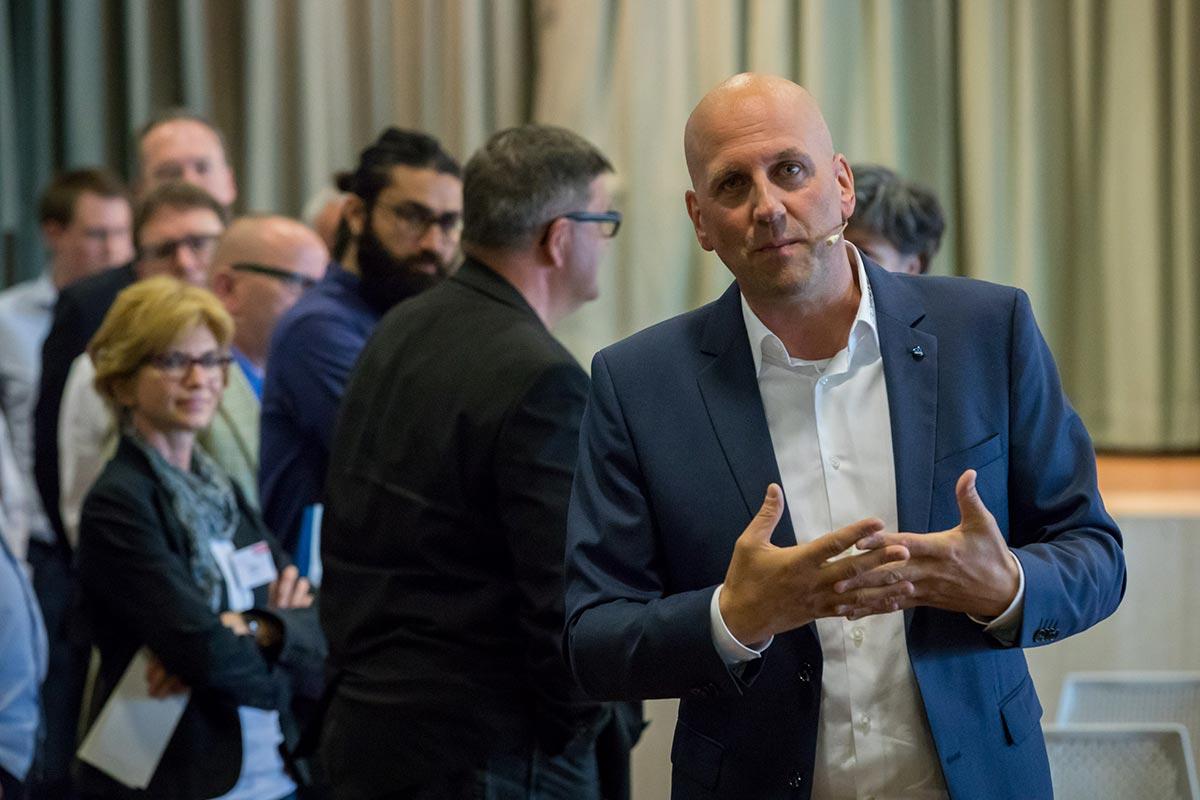 Keynote Speaker Manuel Marburger in Berlin