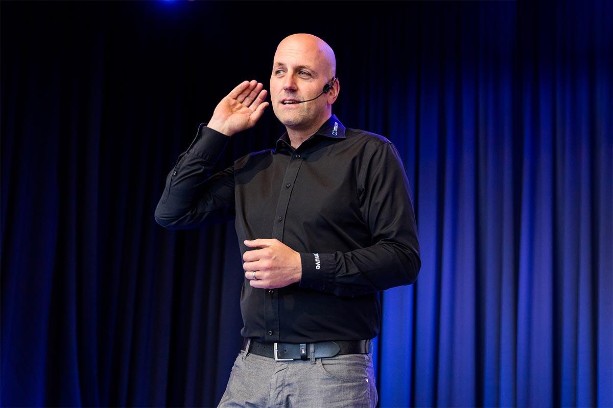 Keynote Speaker Manuel Marburger in Essen