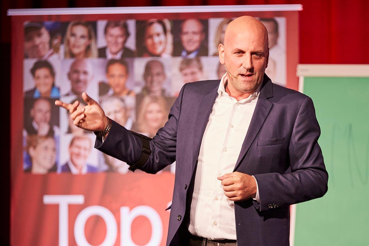 Keynote Speaker Manuel Marburger in Kiel