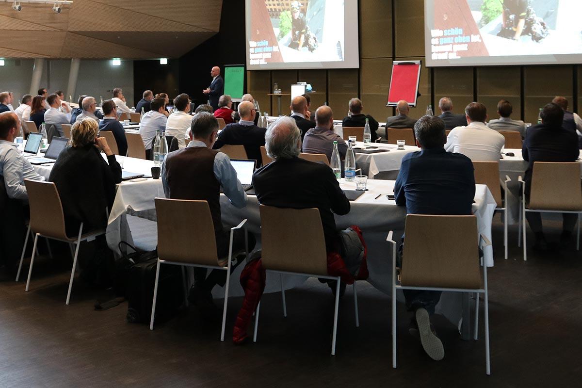 Keynote Speaker Manuel Marburger in Koblenz