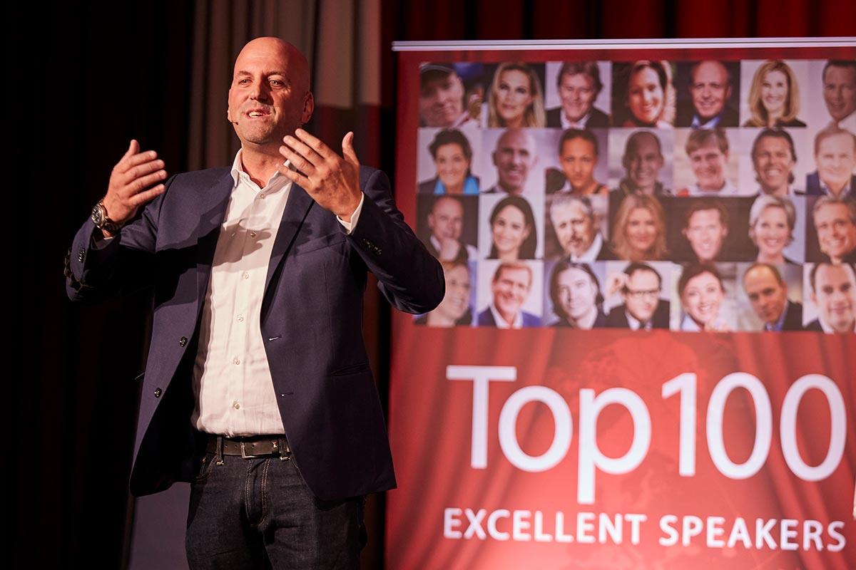 Keynote Speaker Manuel Marburger in Mainz