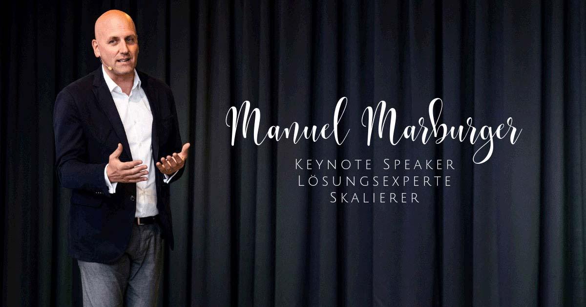 Keynote Speaker – Skalierer – Lösungsexperte