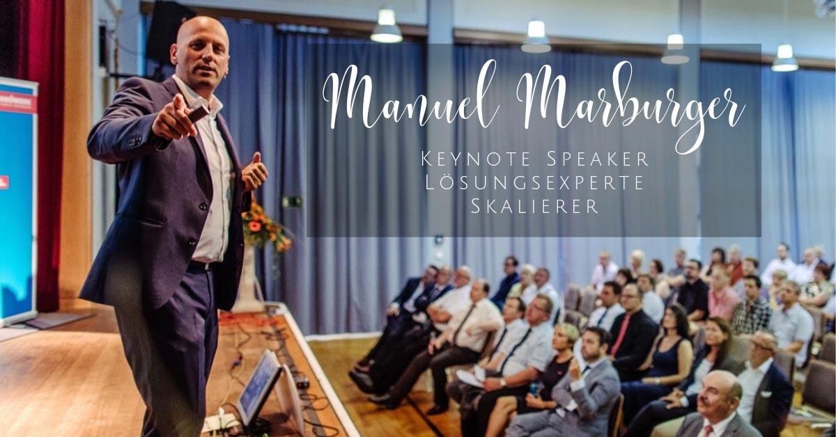 Keynote Speaker Manuel Marburger