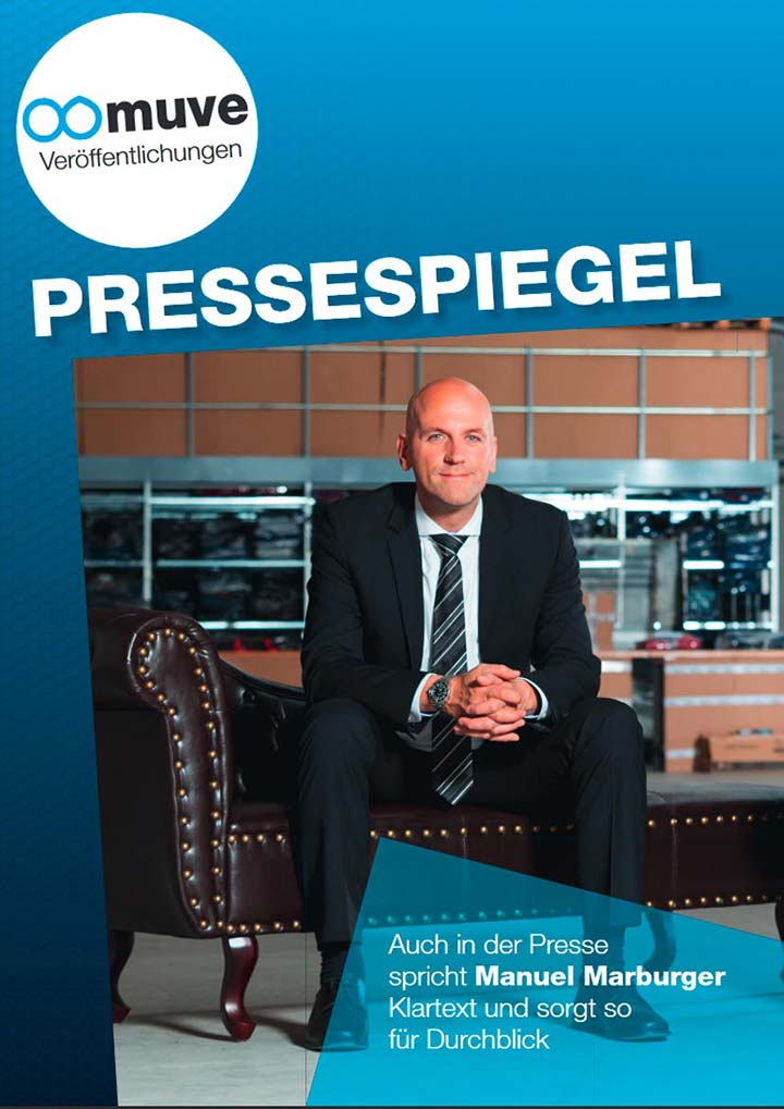Pressespiegel Keynote Speaker Manuel Marburger