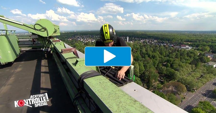 Kabel 1 - Achtung Kontrolle! Höhenangst Fehlanzeige