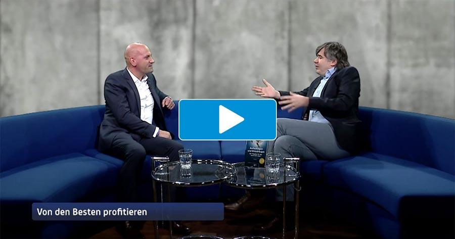 Manuel Marburger bei Herrmann Scherer im TV Studio